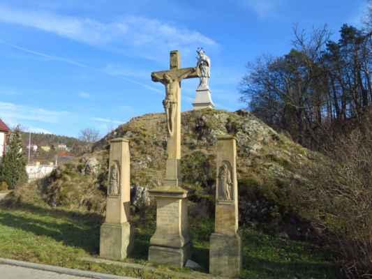 Kalvárie a sv. Jan zařídili, abychom v pořádku zpět do Tetčic opět dorazili