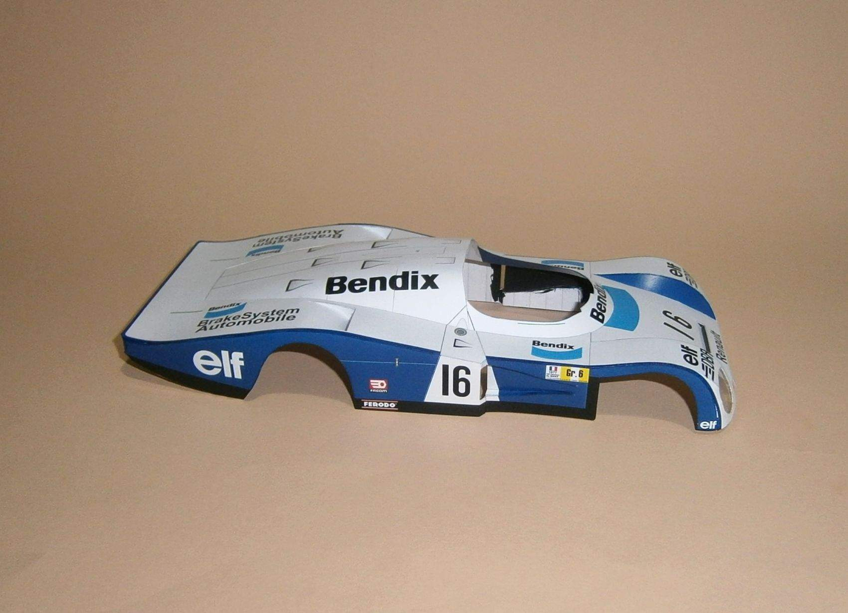 Alpine Renault A442 - Le Mans 24 Hours 1977