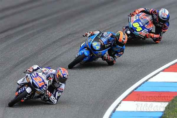 Konečné pořadí závodu Moto3: 21  Fabio Di Giannantonio (Itálie) průměrná rychlost 150 km/hod 44  Aron Canet (Španělsko) 84  Jakub Kornfeil (ČR)