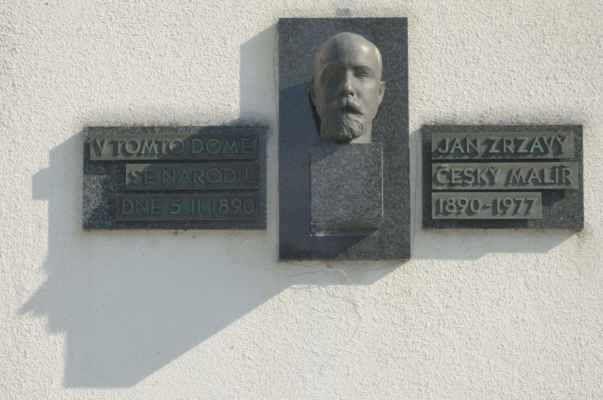 kde se narodil malíř Jan Zrzavý.