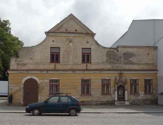 A ještě jeden zajímavý barokní dům...
