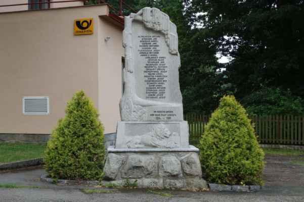 Památník obětem 1. SV.
