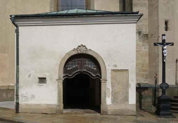 Vstupní portál.