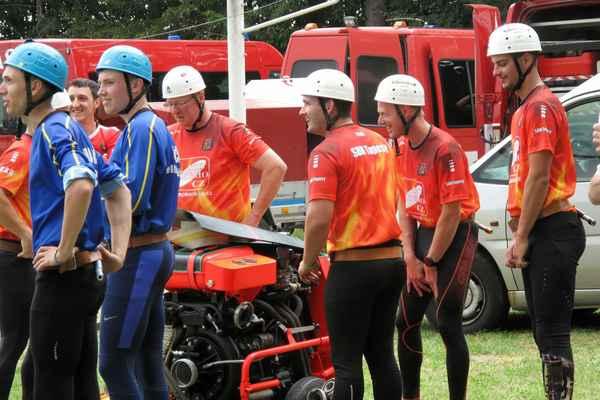 Soutěž hasičů ,,O Pohár starosty sdh Tučapy UH´´ 14.7.2019 foto @ Marcela Fryštáková