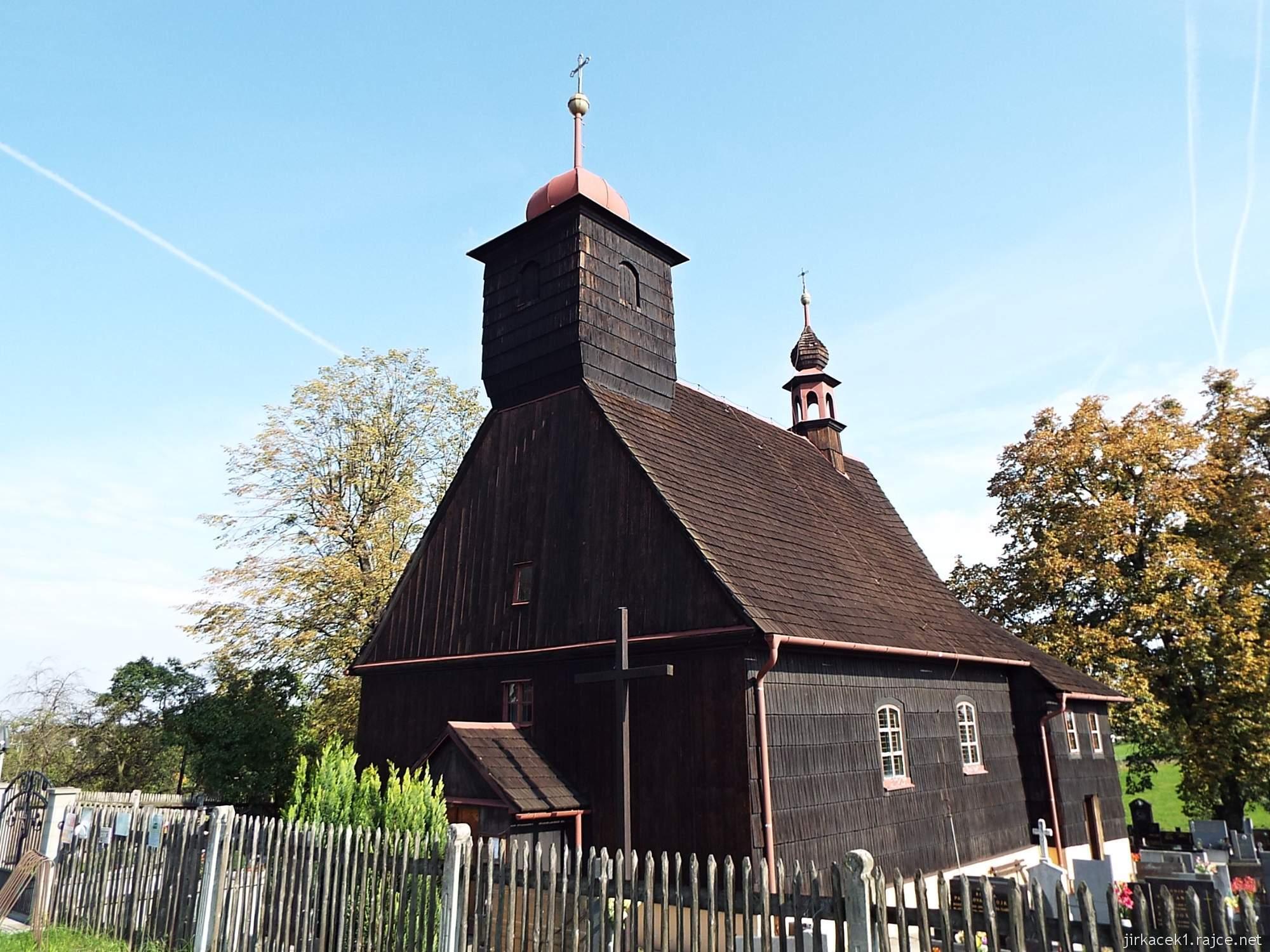 Řepiště - kostel sv. Michaela archanděla 05 - celkový pohled