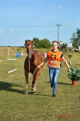 Kateřina Březinová + Jackie SW Peponita - vstupní veterina