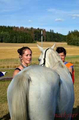 Lenka Tůmová + Efraim - vstupní veterina