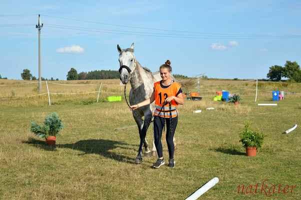 Eliška Bernardová + Billie - vstupní veterina