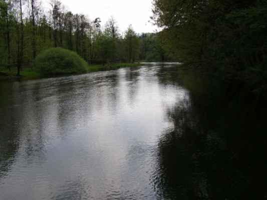 Weisshuhnův kanál 02 - řeka Moravice