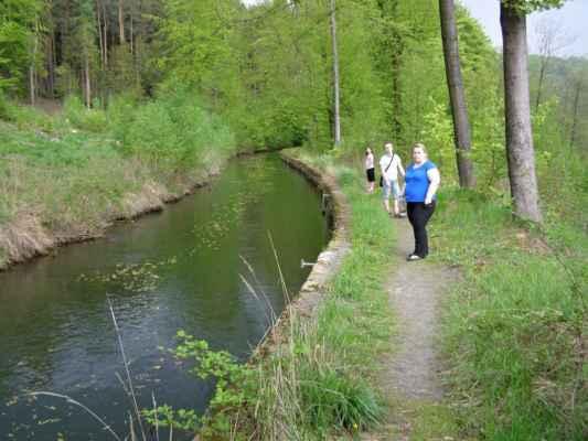 Weisshuhnův kanál 49 - kanál za druhým akvaduktem