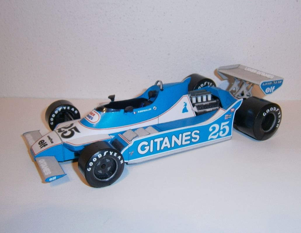 Ligier JS11 - P.Depailler, GP Argentine 1979