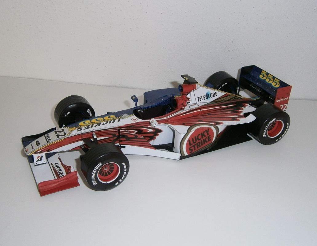 BAR 001 Supertec - J. Villeneuve 1999