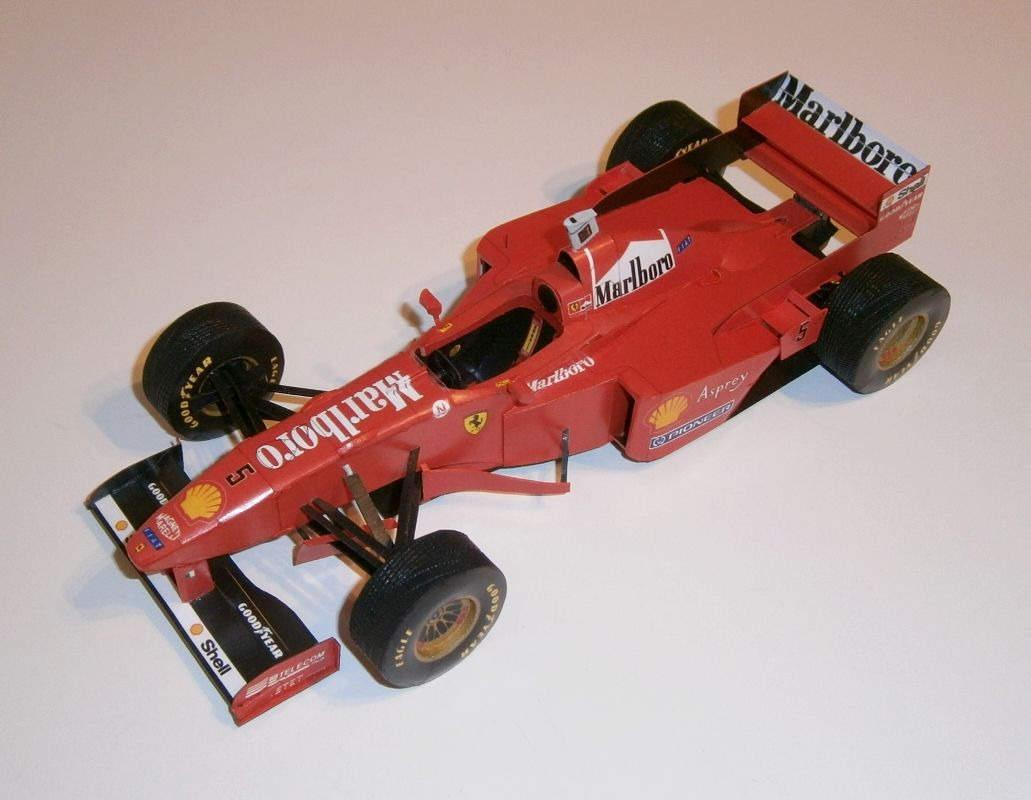 Ferrari F310B - M.Schumacher, GP Monaco 1997