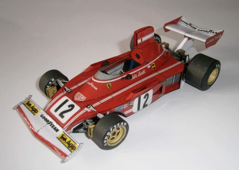 Ferarri 312 B3 - Niki Lauda, GP Dutch 1974