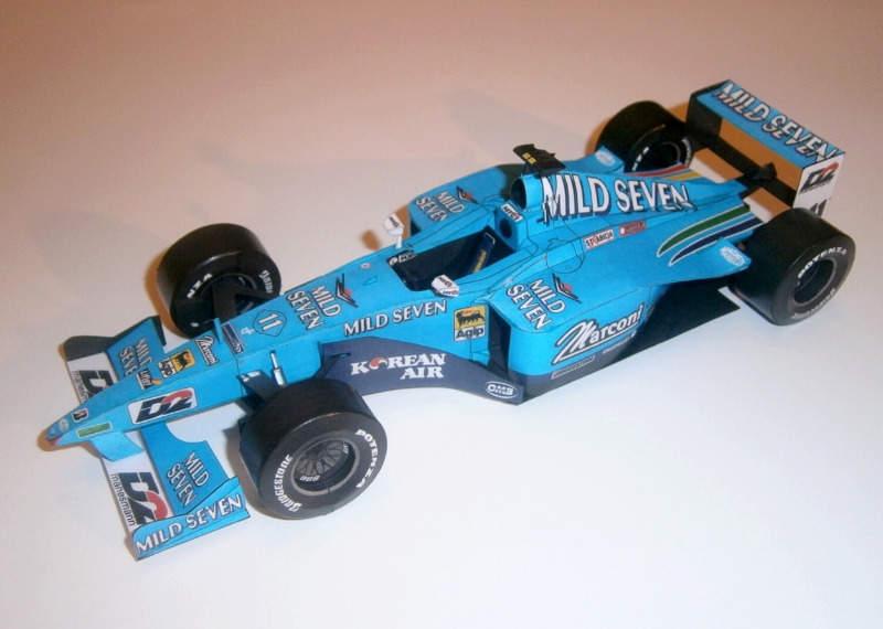 Benetton-Playlife B200 - G.Fisichella 2000
