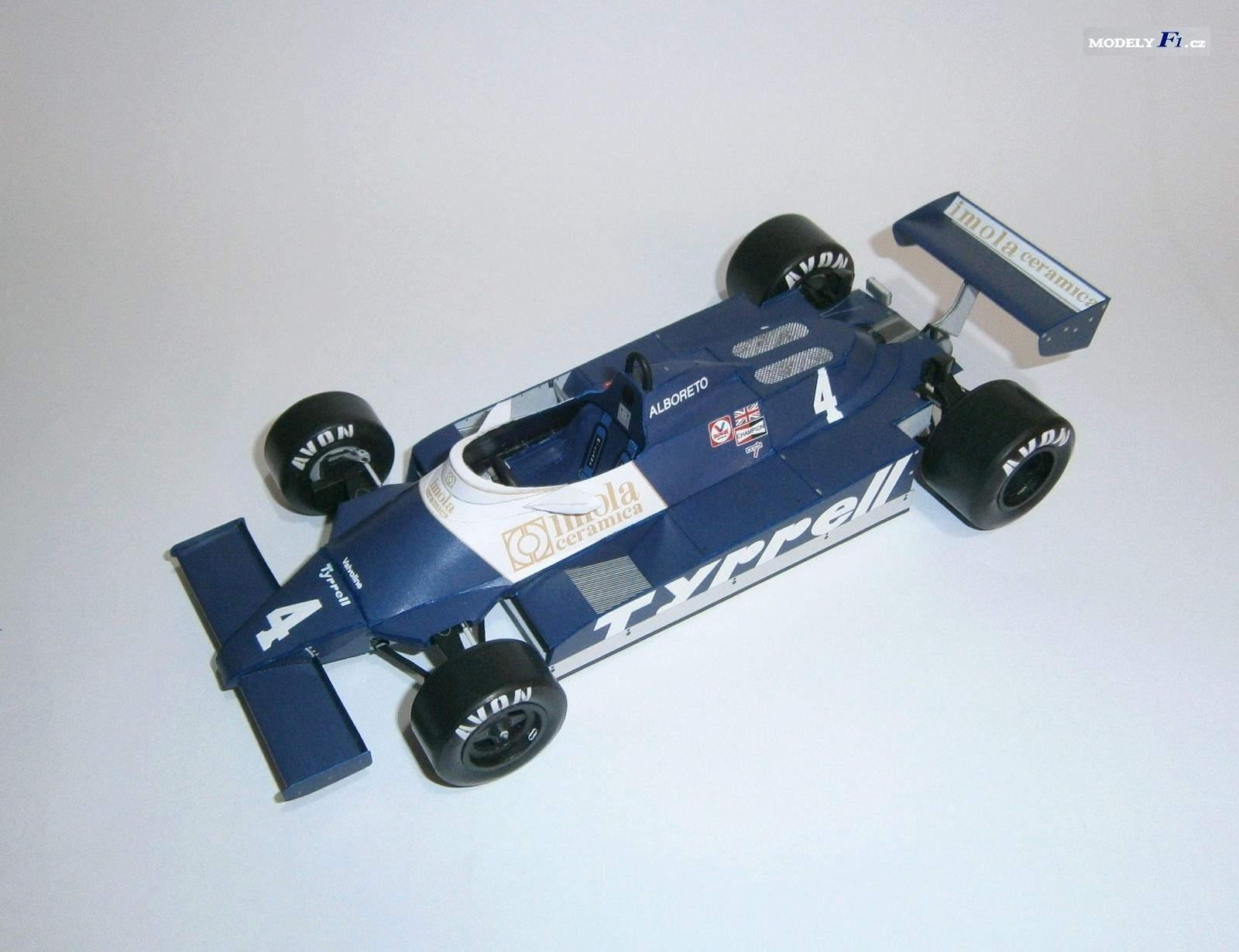 Tyrrell 010 Ford - M.Alboreto, GP Austrian 1981
