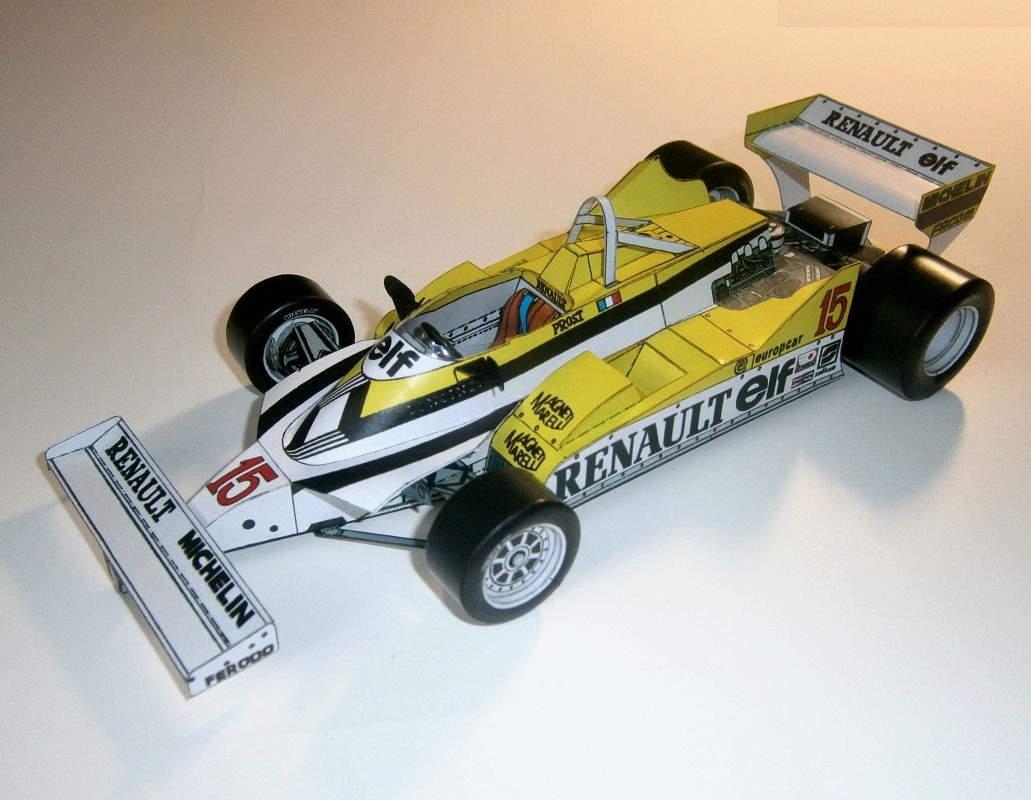 Renault RE30 - Alain Prost, GP France 1981