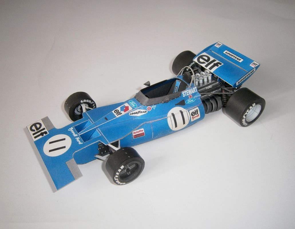 Tyrrell Ford 001 - J.Stewart 1971