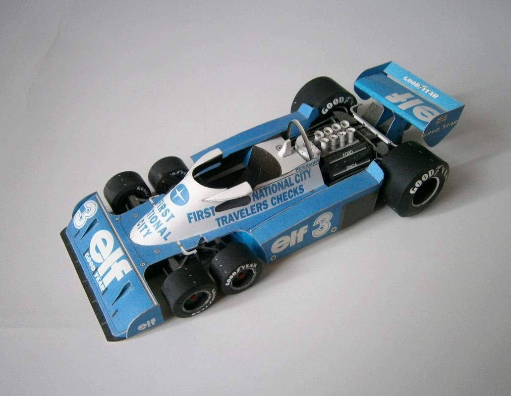 Tyrrell P34 - R.Peterson 1977
