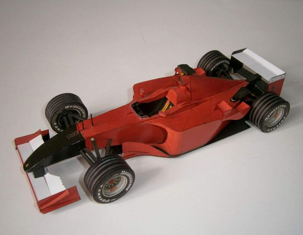 Ferrari F2001 - R.Barrichello, GP Italy-Monza 2001