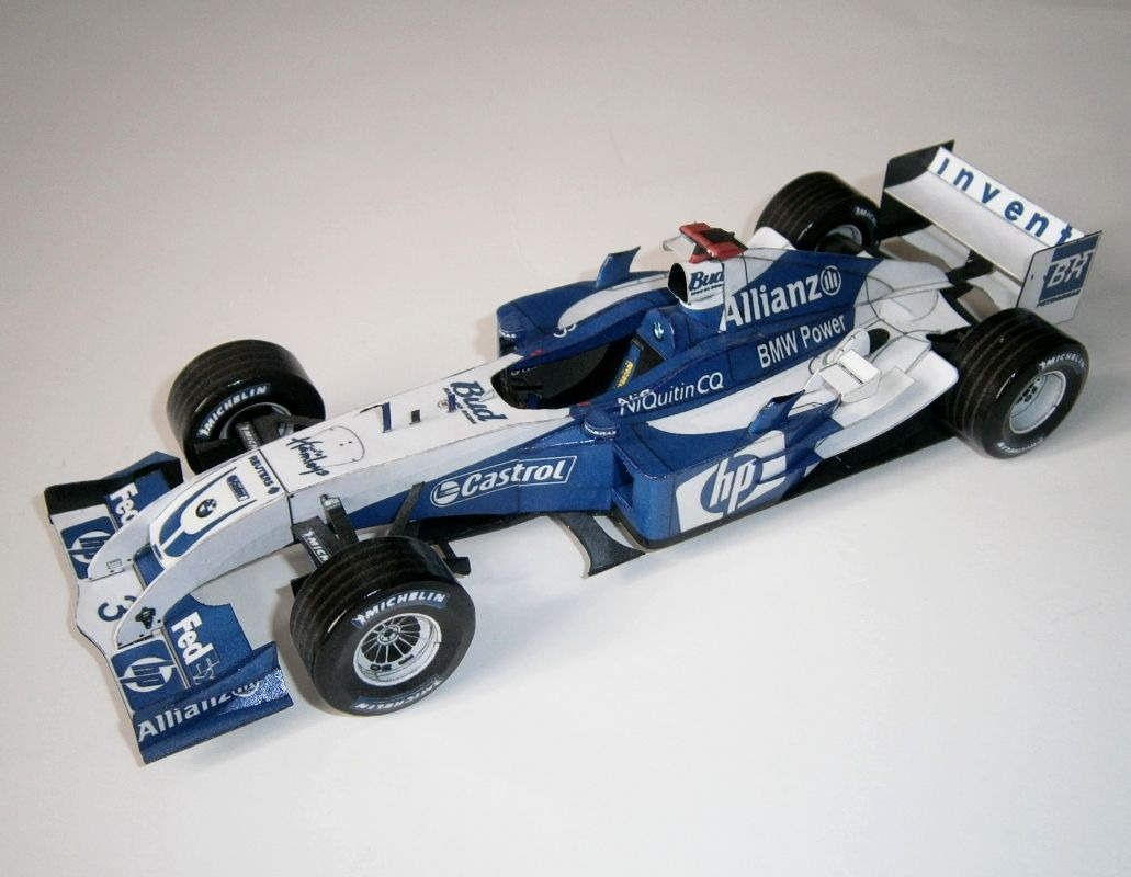 Williams FW26 - J. P. Montoya 2004