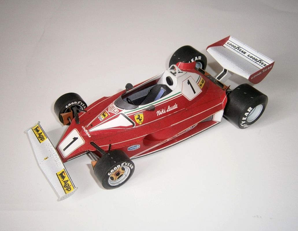 Ferrari 312 T2 - N. Lauda 1976