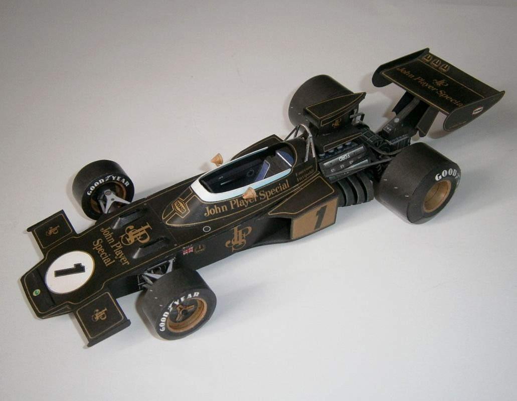 Lotus 72D - E.Fittipaldi, GP France 1973