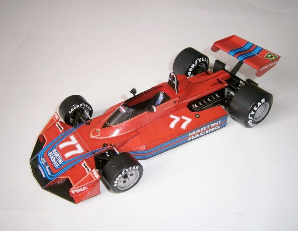 Brabham BT45 - Rolf Stommelen, GP Germany - Practice 1976