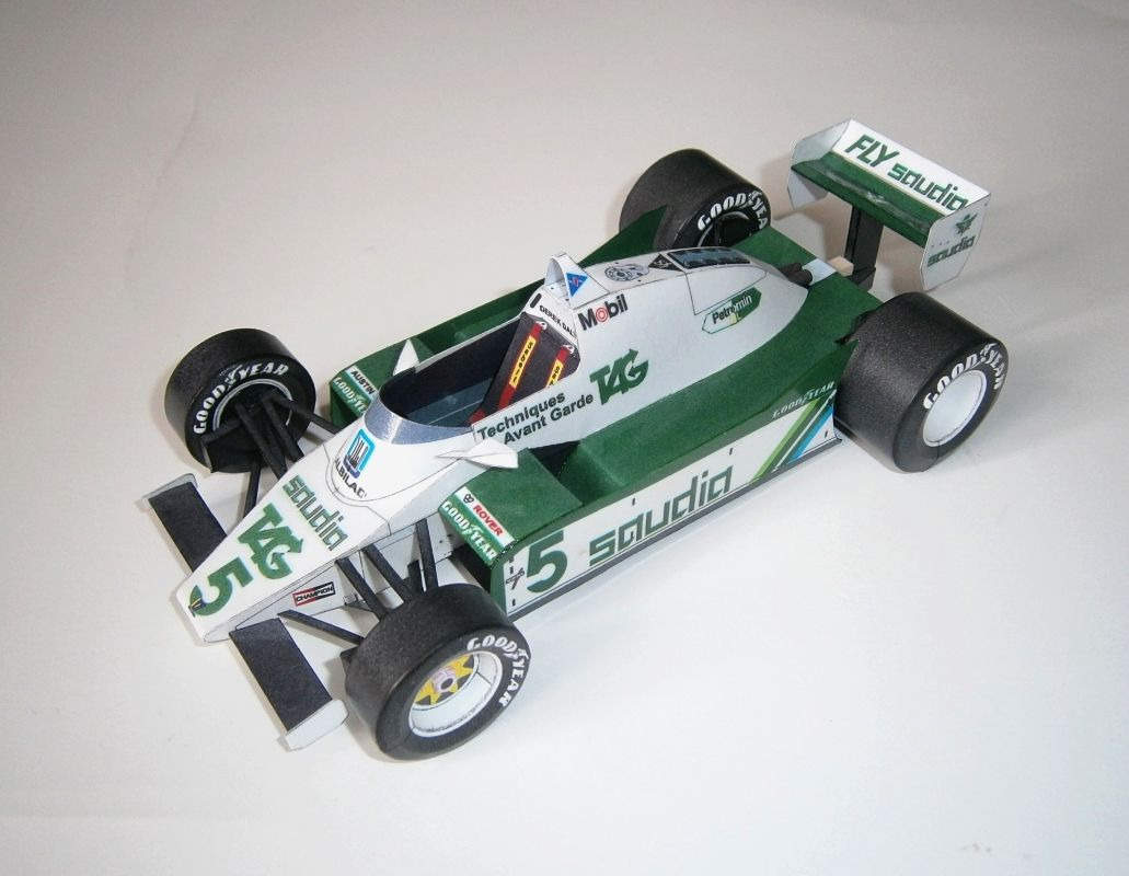 Williams FW08 - D.Daly 1982
