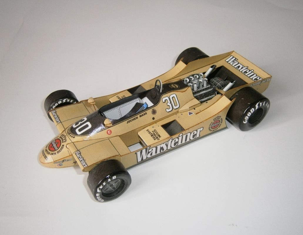 Arrows A2 - J.Mass, GP British 1979
