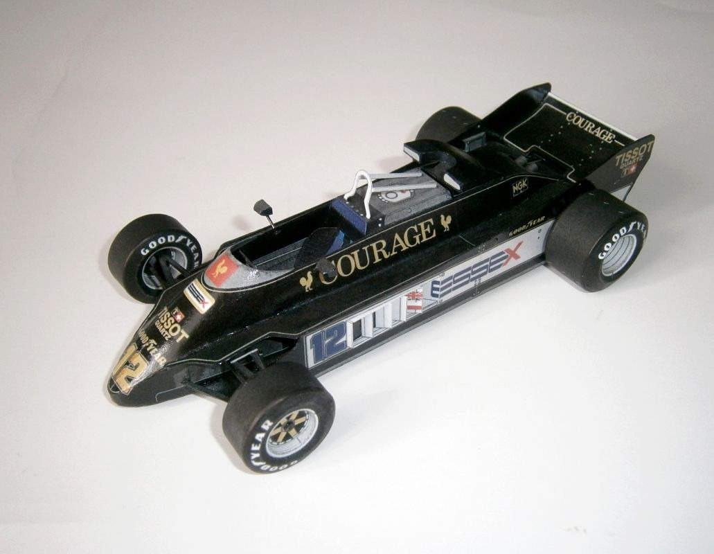 Lotus 88B - Nigel Mansell - test car 1981