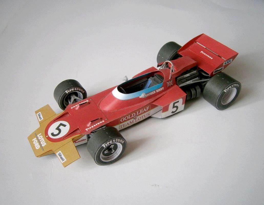 ABC - Lotus 72 - J.Rindt, GP Italy 1970