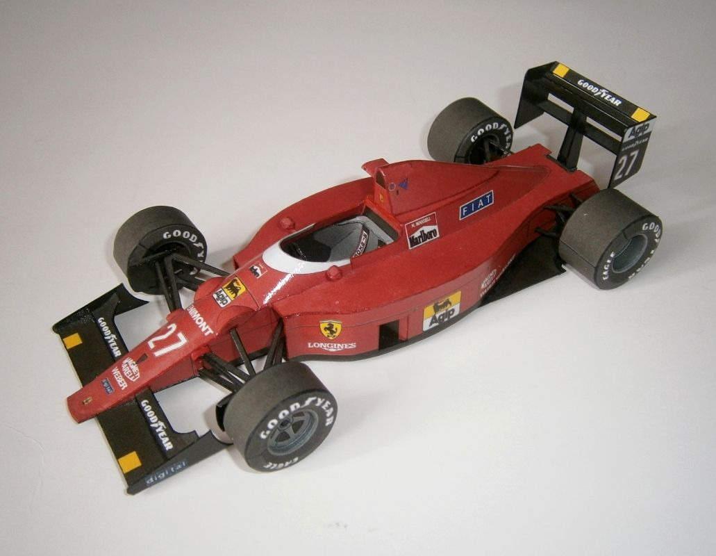 Ferrari 640 - N.Mansell, GP Portugese 1989