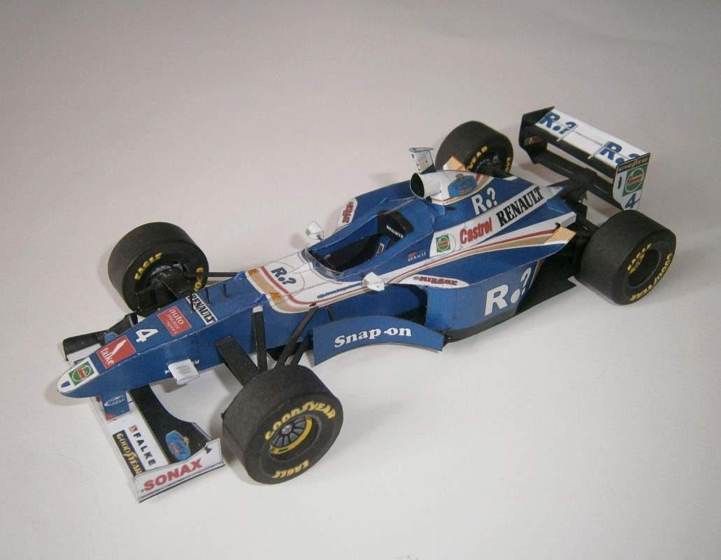 Williams FW19 - H.H.Frentzen, GP British 1997