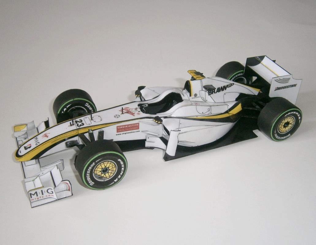 Brawn GP Mercedes BGP 001- R.Barrichello, GP Europe 2009