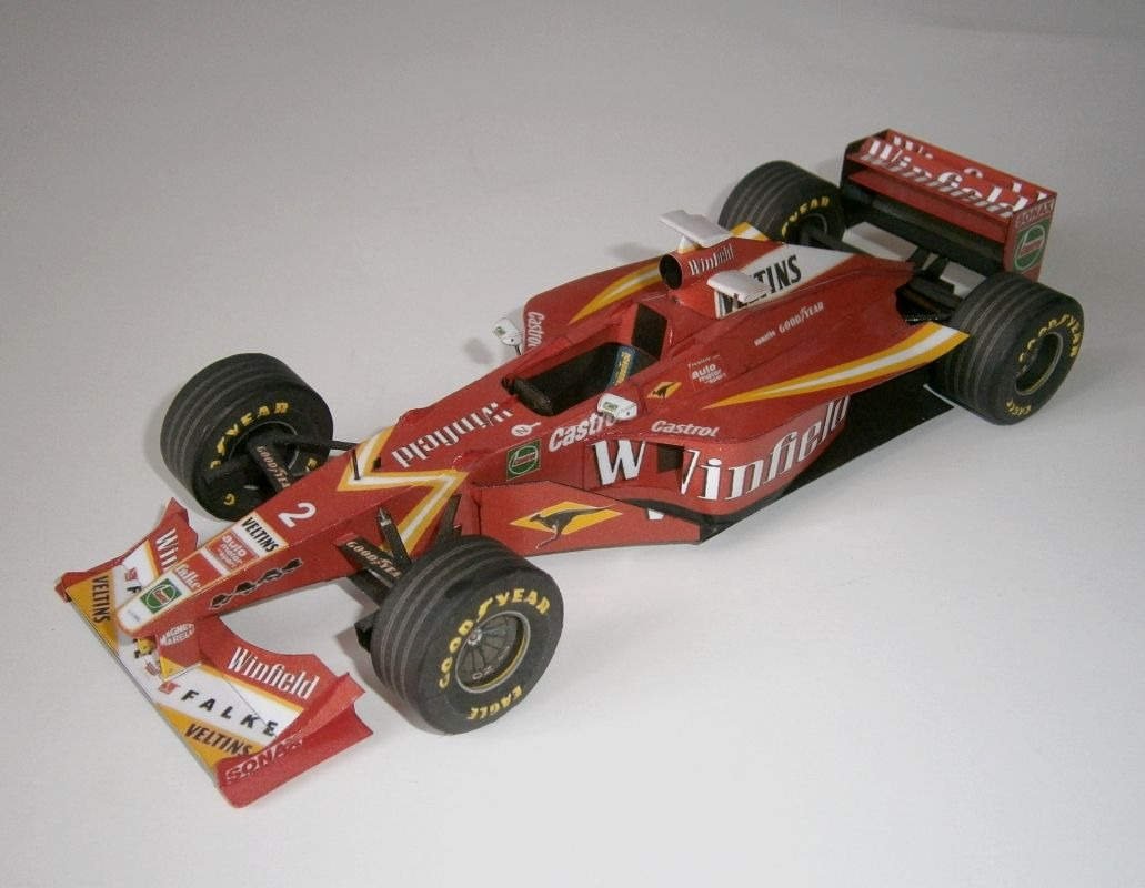 Williams FW20 - H.H.Frentzen, GP Monte Carlo 1998