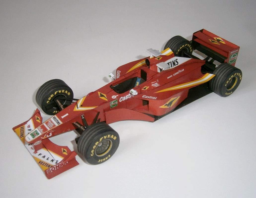 Williams FW20 - J.Villeneuve, GP British 1998