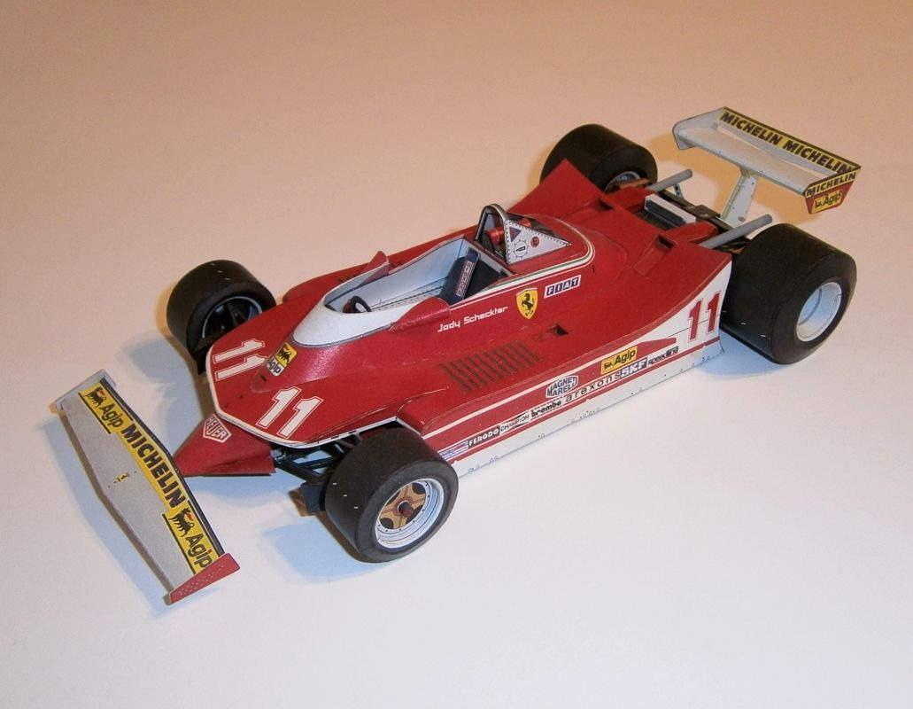 Ferrari 312 T4 - J.Scheckter 1979