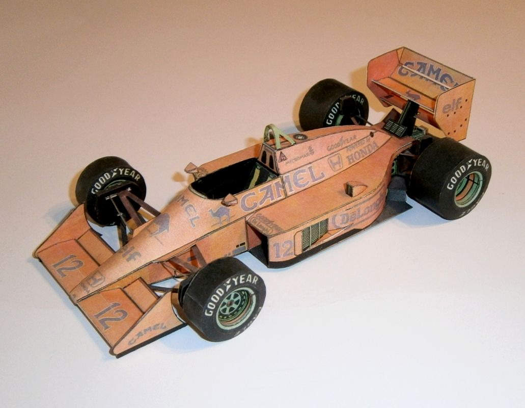 ABC - Lotus 99T-04 - A.Senna 1987
