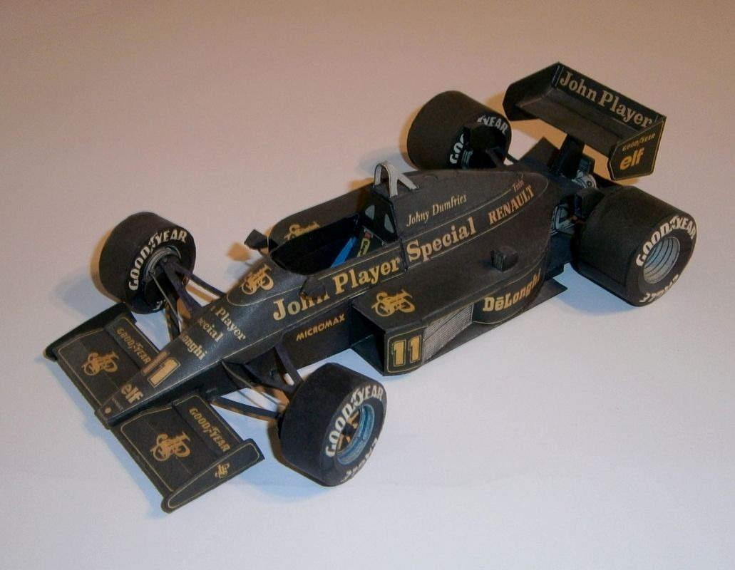ABC - Lotus 98T Renault - J.Dumfries 1986