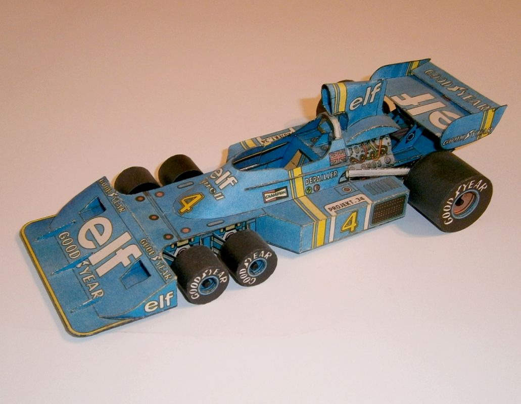 ABC - Tyrrell Project 34 - 1976