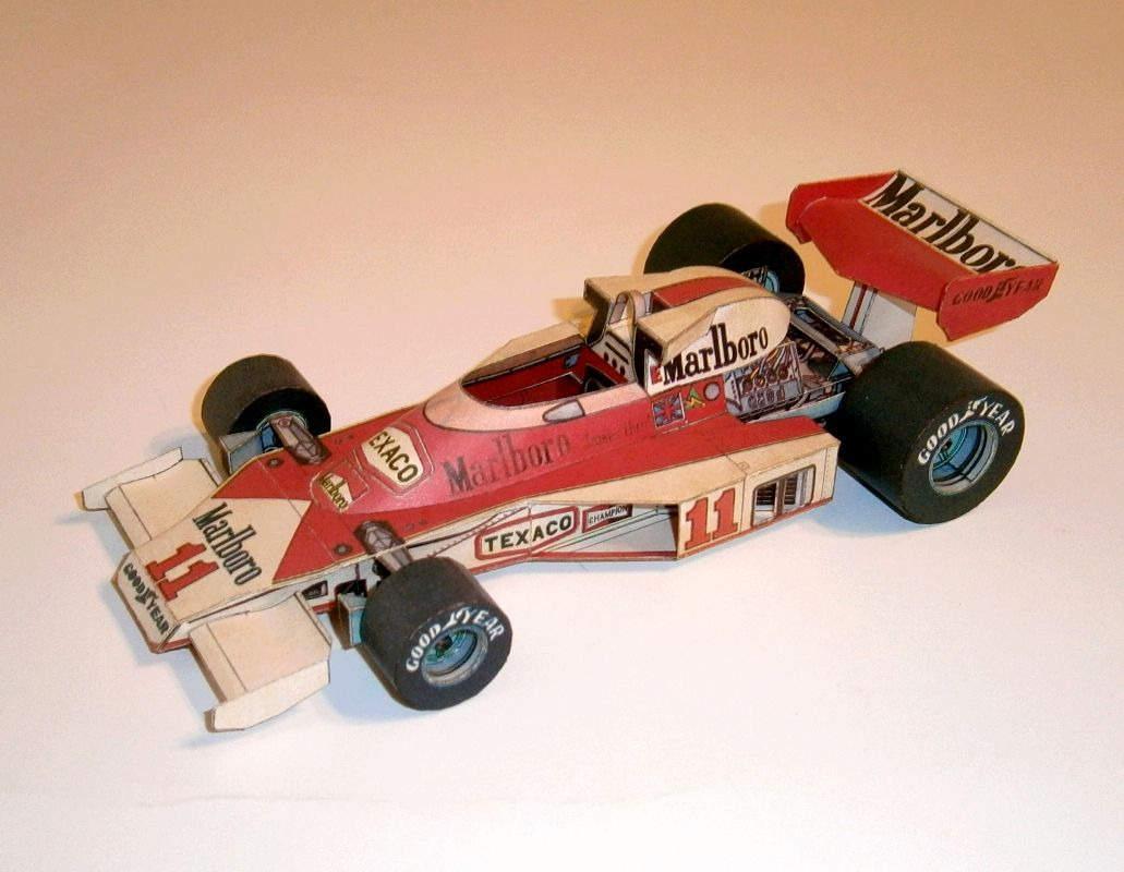 ABC - McLaren M23 - J.Hunt 1977