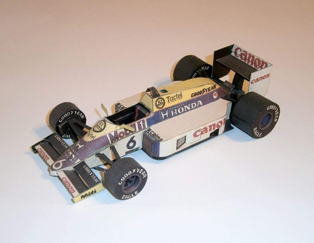 ABC - Williams FW11 - N.Piquet 1986