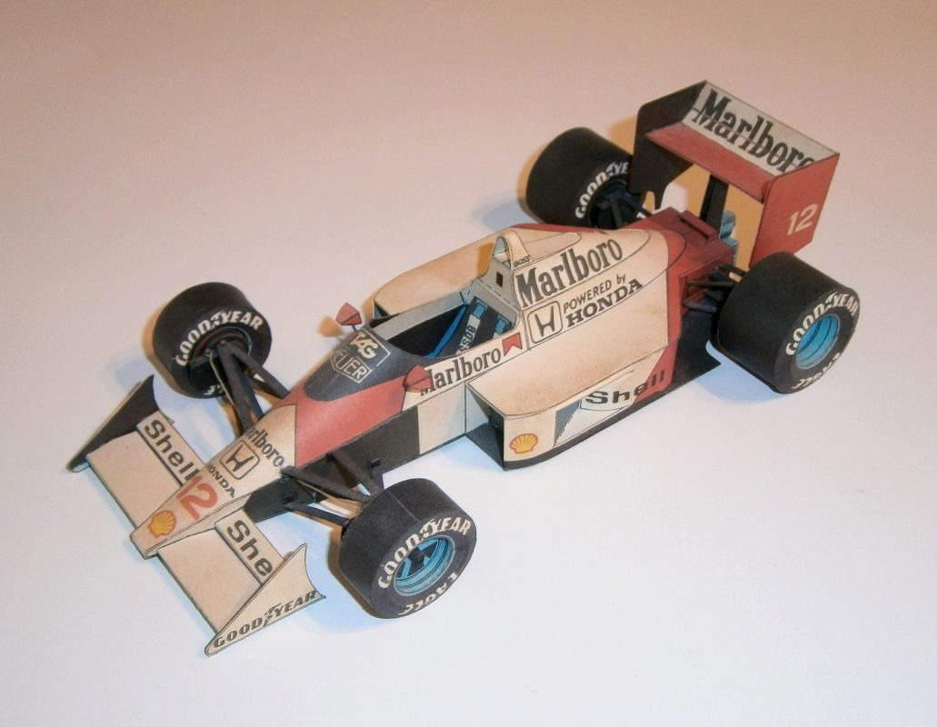 ABC - McLaren MP4-4 - A.Senna 1988