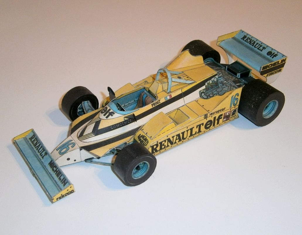 ABC - Renault RE30 - A.Prost 1981