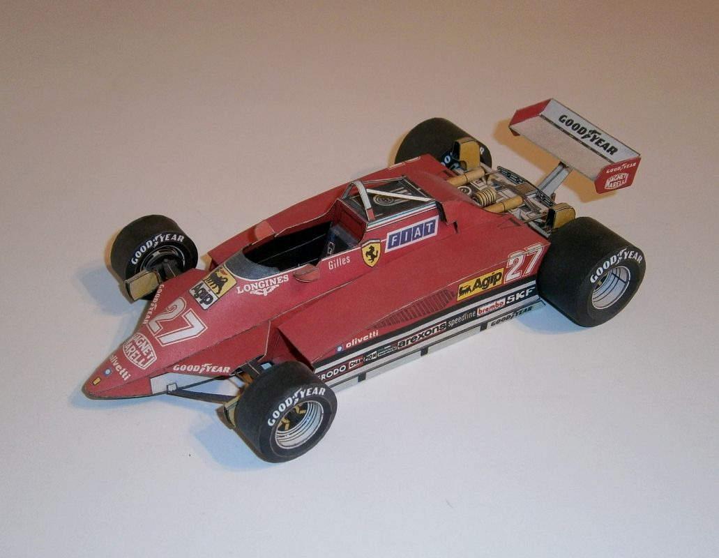 ABC - Ferrari 126 C2 - G.Villeneuve 1982