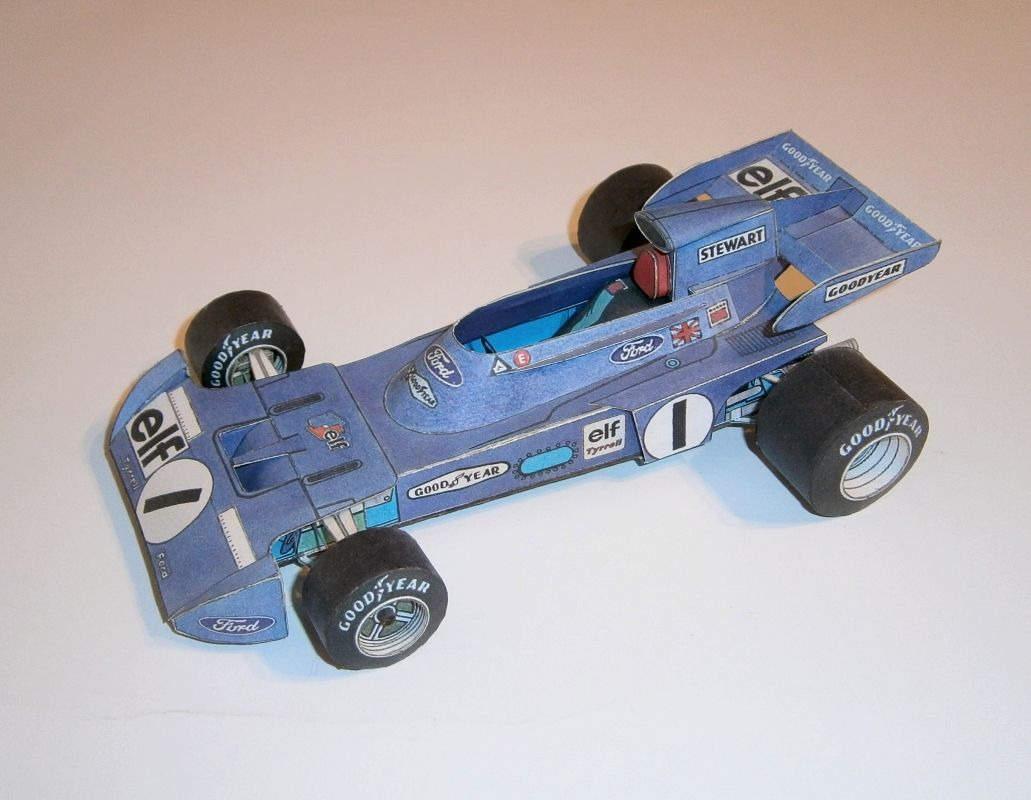 ABC - Tyrrell Ford 005 - J.Stewart 1974