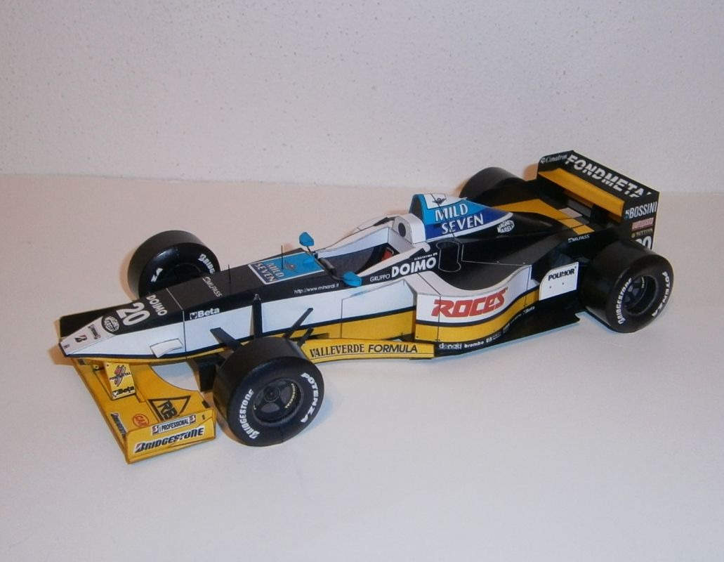 Minardi M197 - Ukyo Katayama, GP Spanish 1997