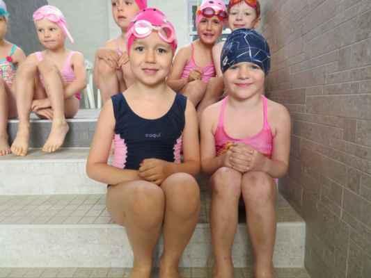 Plavání-zelená třída