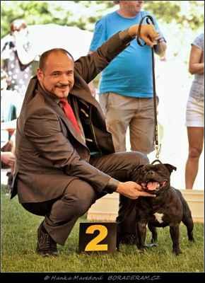 Front Runner Domidar Dogs (Breno Domidar Dogs X Beretta Domidar z Hambalek Bušín) - Psi - třída vítězů - V2, res. CAC